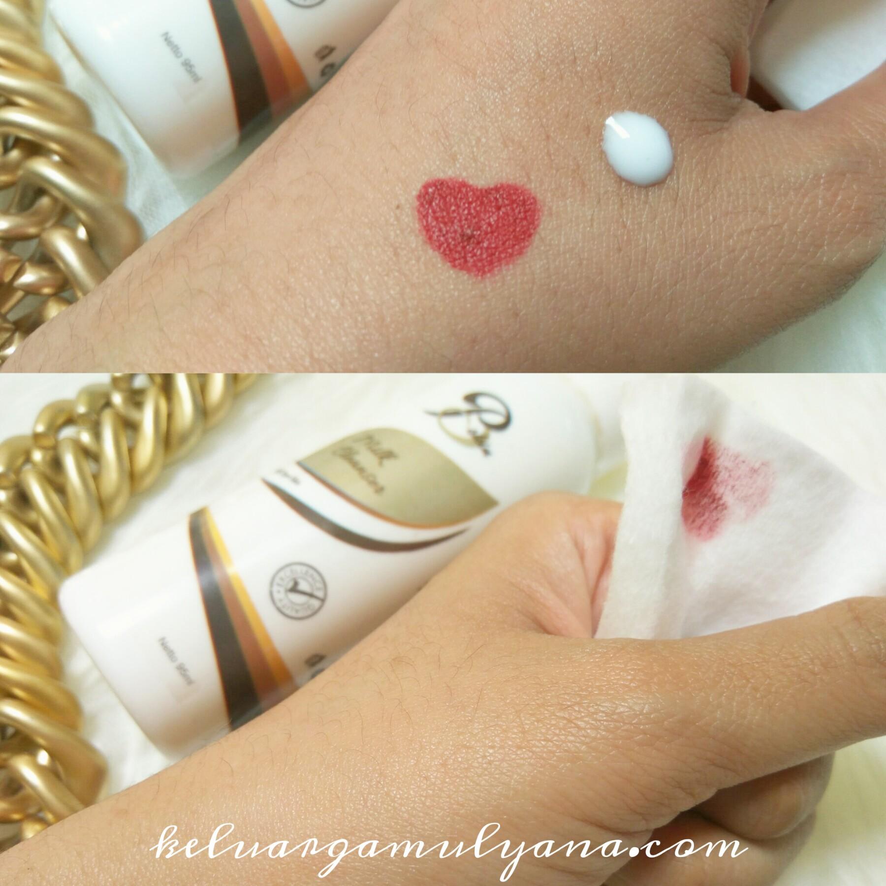 skin care milk cleanser karadenta