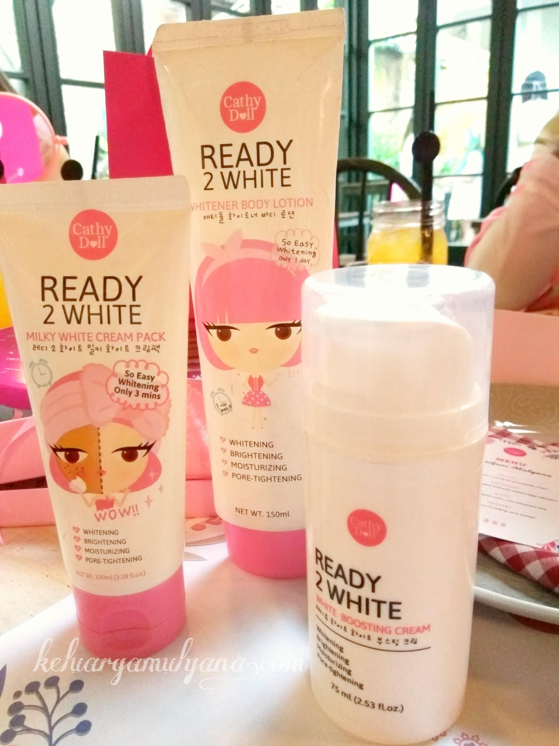 Cathydoll ready to white