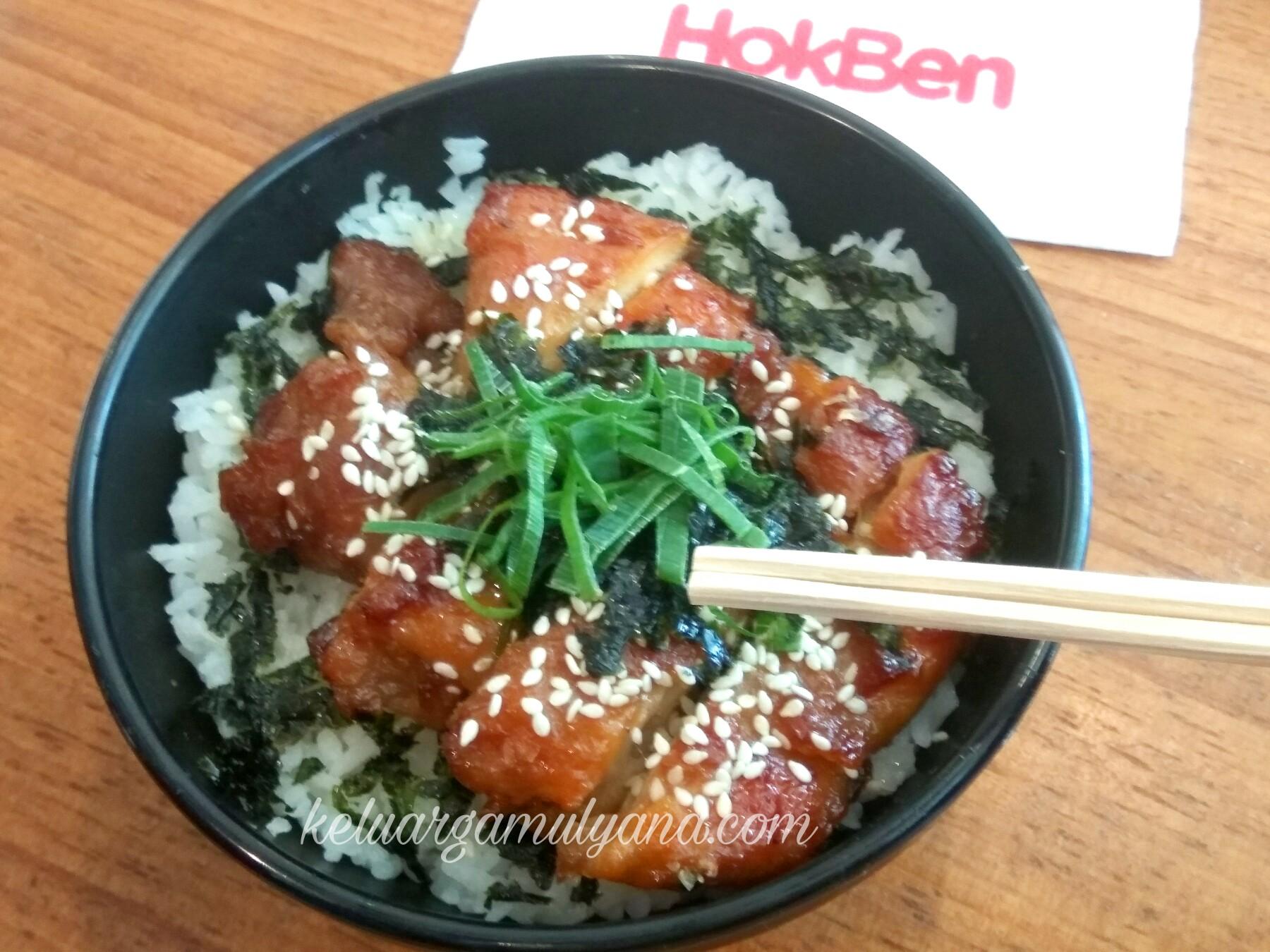 Chicken steak tokyo bowl hokben