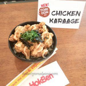 chicken karage mayo tokyo bowl hokben