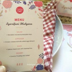 Onni Kitchen surabaya menu