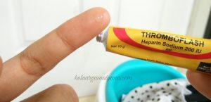 thromboflash obat lebam