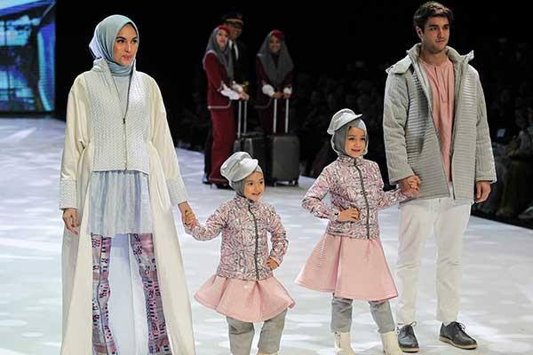 busana muslim keluarga