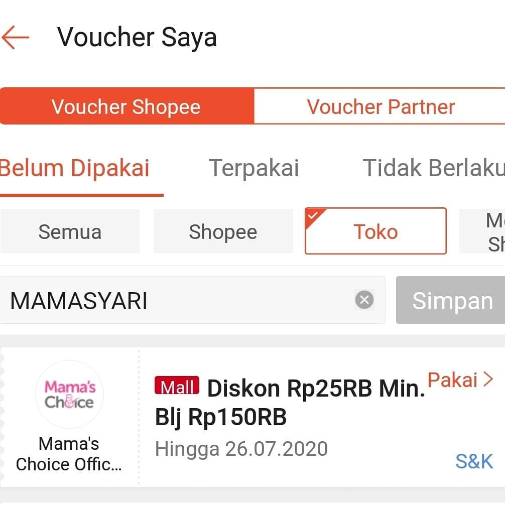 mama choice kode voucher belanja
