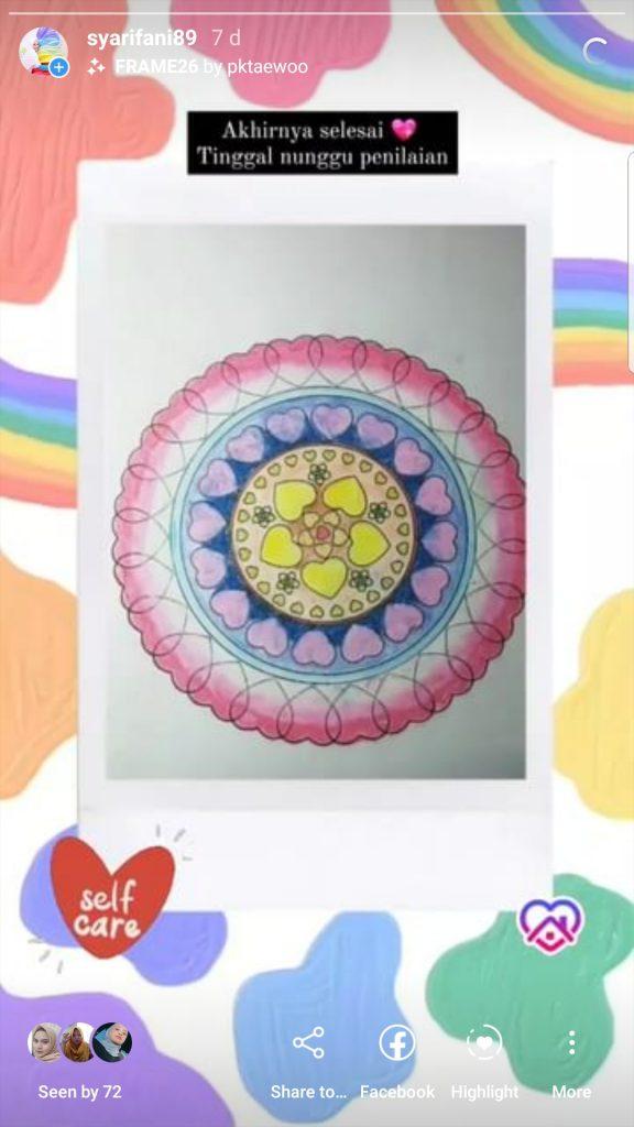 art therapy mandala