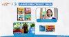 Donasi buku program BACA Danone