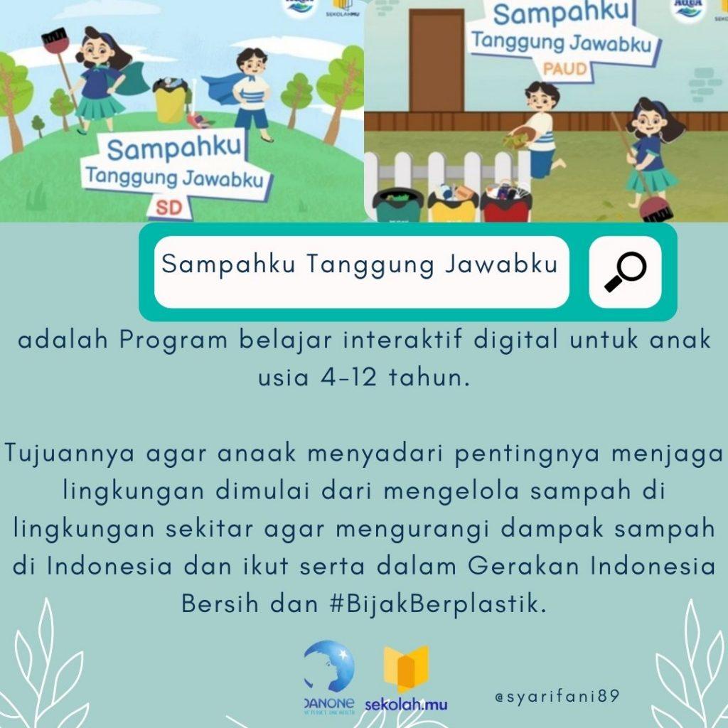 pendidikan lingkungan anak SD dan PAUD