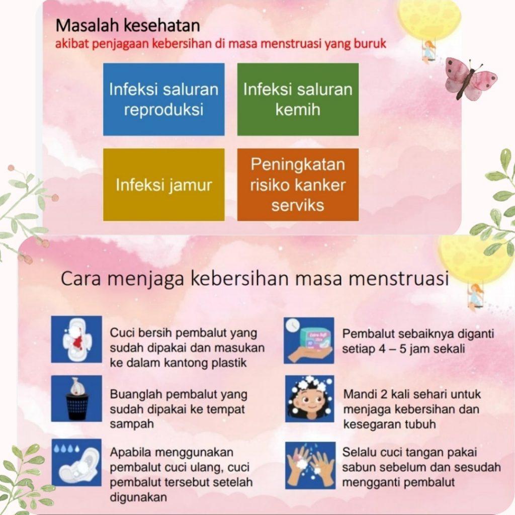 mengajarkan menstruasi ke anak, mengatasi keputihan