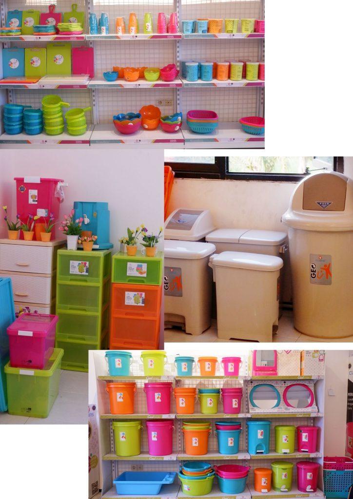 Toko perabotan plastik surabaya Claris store surabaya