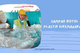 daur ulang botol plastik aqua