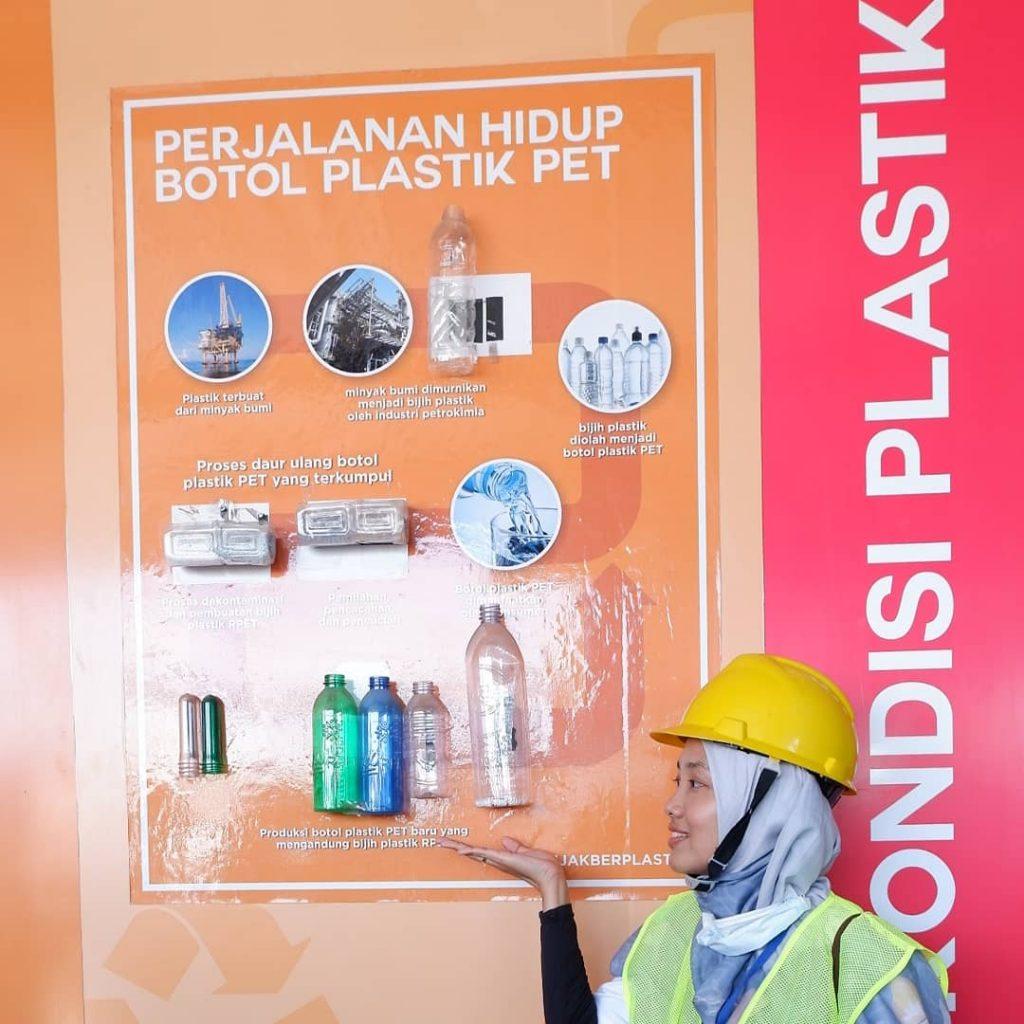 daur ulang botol plastik dan cara pembuatannya